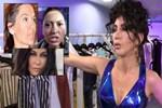 Hande Yener tezgahtarlık yaptığı mağazada klip çekti