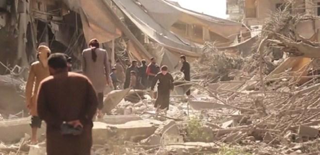 Rakka operasyonunda yine siviller katledildi