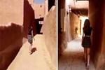 'Mini etekli kız' serbest bırakıldı