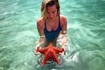 Ceyda Ateş'in deniz yıldızı şaşkınlığı
