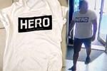 'Hero' tişörtü giyen garsona gözaltı!