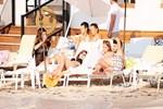 Beşiktaş'ın Brezilyalı yıldızı Adriano tatilde
