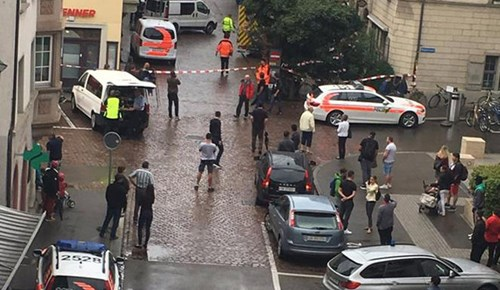 İsviçre'de dehşet veren saldırı!