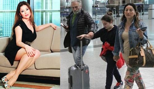 Aşkın Nur Yengi ve Haluk Bilginer Londra'ya uçtu