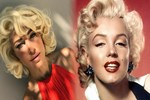 Burcu Esmersoy 'Çakma Marilyn' oldu