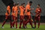 Galatasaray yıldızlarıyla kazandı