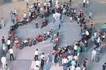 Diyarbakır'da motosikletli evlilik teklifi!