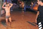 'Tarzan Sabri' polisi delirtti!