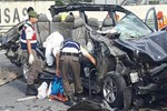 Bilecik'te feci trafik kazası!