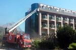 Antalya'da lüks otelde yangın çıktı!