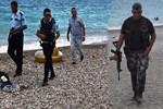 Antalya'da özel harekat sahile indi