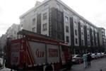 İstanbul Fatih'te otel yangını!