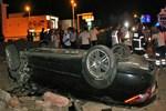 Bodrum'da dehşet veren trafik kazası!