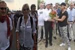 Ayşe Arman 'Adalet Yürüyüşü'ne katıldı