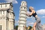 Burcu Binici İtalya'nın altını üstüne getirdi