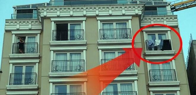 Taksim'deki lüks otelde bunu yaptı
