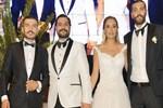 Basketbolcu Göksenin Köksal'ın kardeşi evlendi