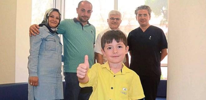 Küçük Mustafa'nın mucize kurtuluşu!