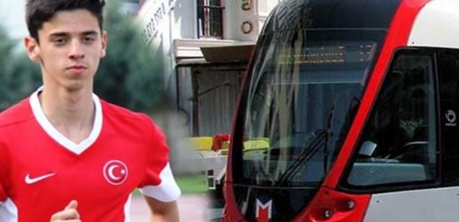 Milli atlet tramvayı geride bıraktı!