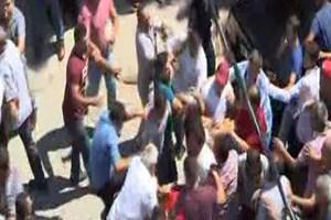 Sakarya'da Adliye önünde linç girişimi!