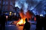 Almanya'da göstericilere müdahale!