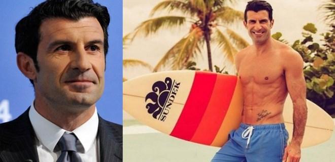 Figo, Ibiza'nın tadını çıkarıyor