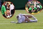 Wimbledon'da dehşet anları!