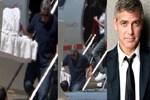 George Clooney ikizleriyle görüntülendi!