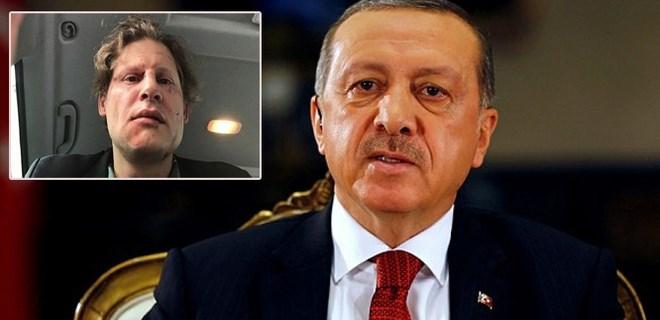 Alman gazeteciden Cumhurbaşkanı Erdoğan'a teşekkür