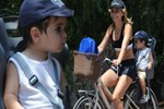 Sevimli Eymen'in bisiklet turu