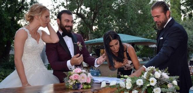 Cavit Çetin Güler ve Gizem Örge evlendi