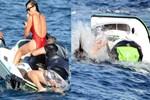 Hamdi Alkan jet-ski mağduru oldu!