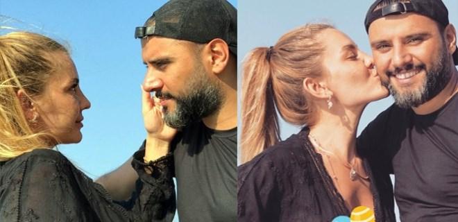 Eda Erol ve Alişan'dan fotoroman tadında pozlar