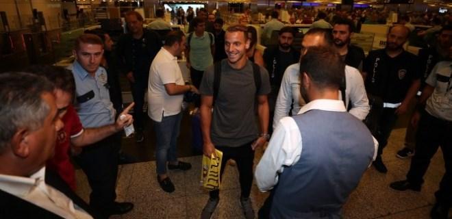 Yeni transfer Soldado İstanbul'da!