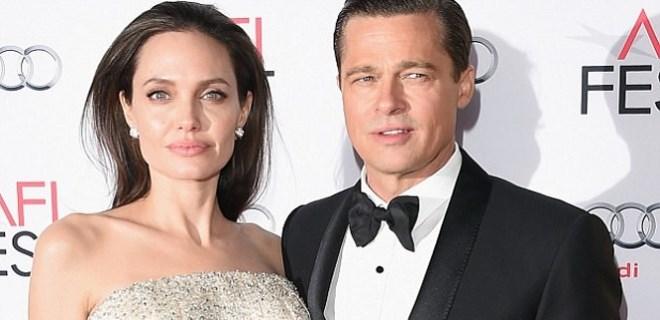 Angelina Jolie ile Brad Pitt boşandı