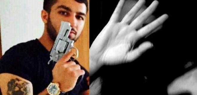 Tecavüzcüyü düşürdüğü kol saati ele verdi