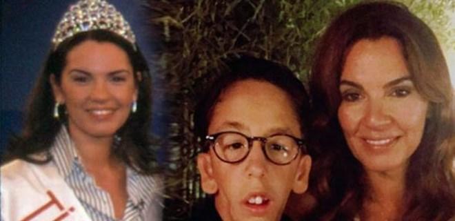 Özlem Kaymaz'ın oğlu 15 yaşına bastı