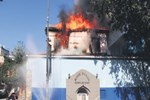 Mimar Sinan'ın eseri yandı!