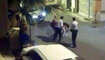 Kadınlara polisten dayak