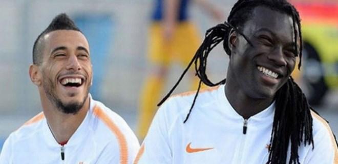 Galatasaray'ın yeni transferleri taraftara seslendi