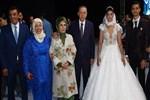 Erdoğan Milli sporcunun düğününe katıldı