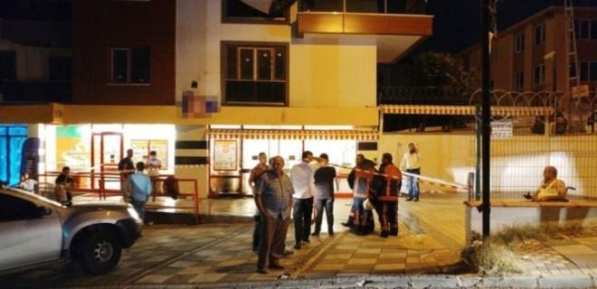İstanbul'da bir markete molotoflu saldırı!..