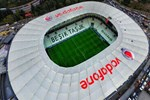 Beşiktaş Vodafone Park Stadı'na haciz şoku!