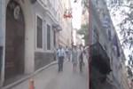 Yunanistan'ın İstanbul Başkonsolosluğu'nda yangın çıktı!