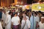 Mekke'de Türk hacı adaylarının kaldığı otelde yangın!