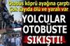Ankara'da içerisinde çok sayıda yolcunun bulunduğu otobüsün köprü ayağına çarpması sonrası, 5 kişi...