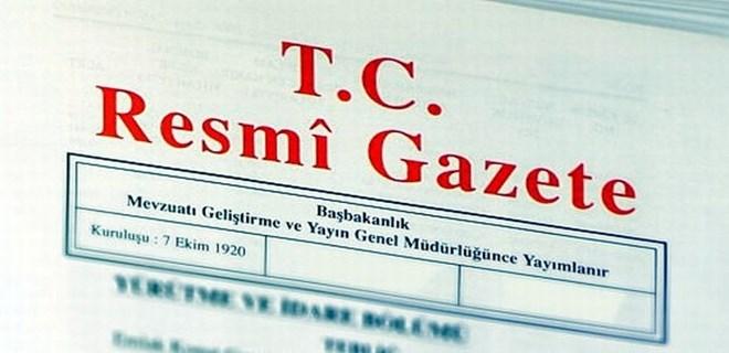 YAŞ kararları Resmi Gazete'de yayımlandı
