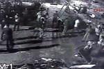 Parktaki asker uğurlamasında kan aktı