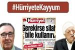 Türkiye Gazetesi ve TGRT Haber'den 'Hürriyet'e Kayyum' kampanyası