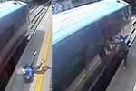 Londra metrosunda bir kadın ölümden döndü